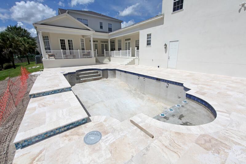 Poolbau Planung